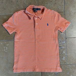 Polo Ralph Lauren boy's polo shirt. Stripe. Size 7